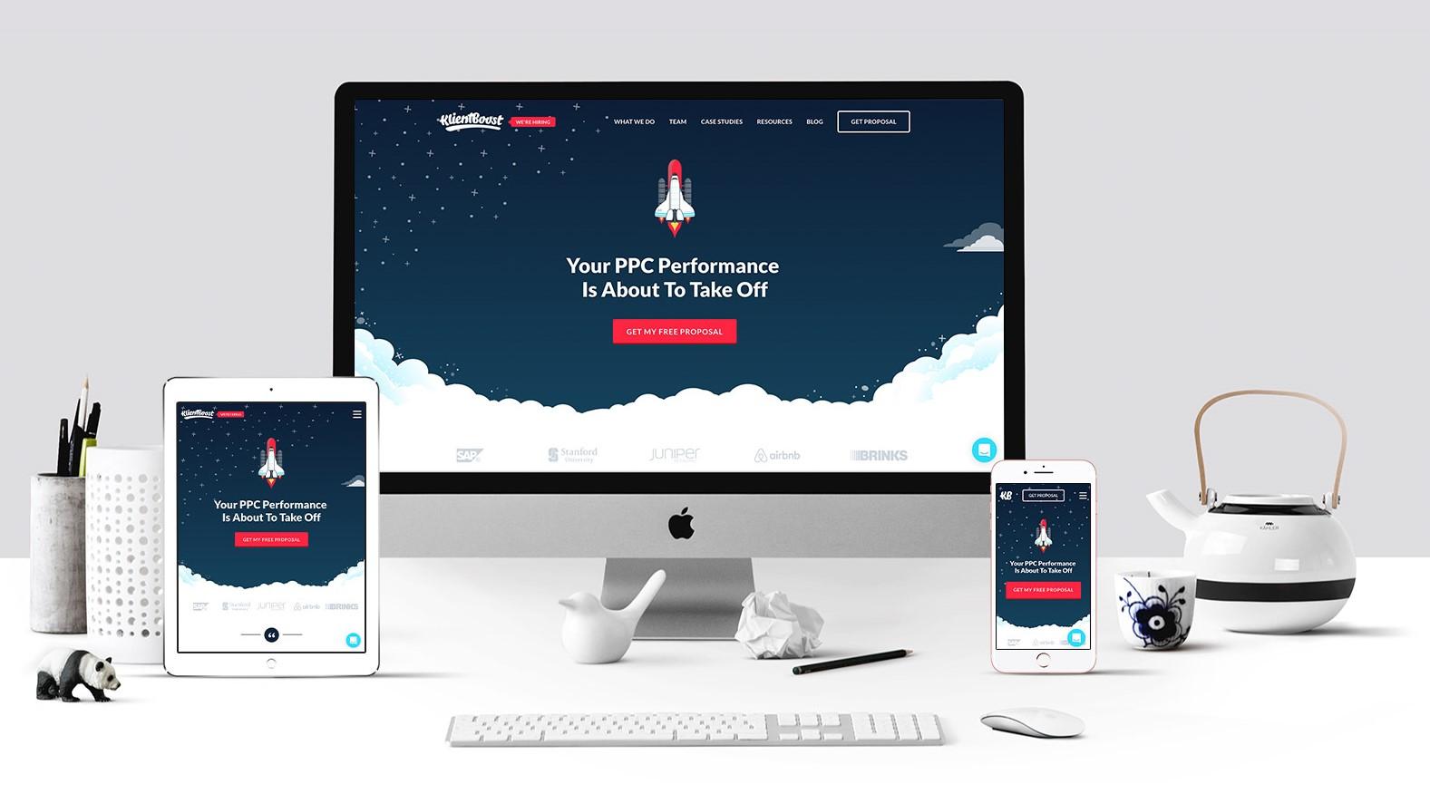 نمایش سایت ریسپانسیو در دستگاه های مختلف