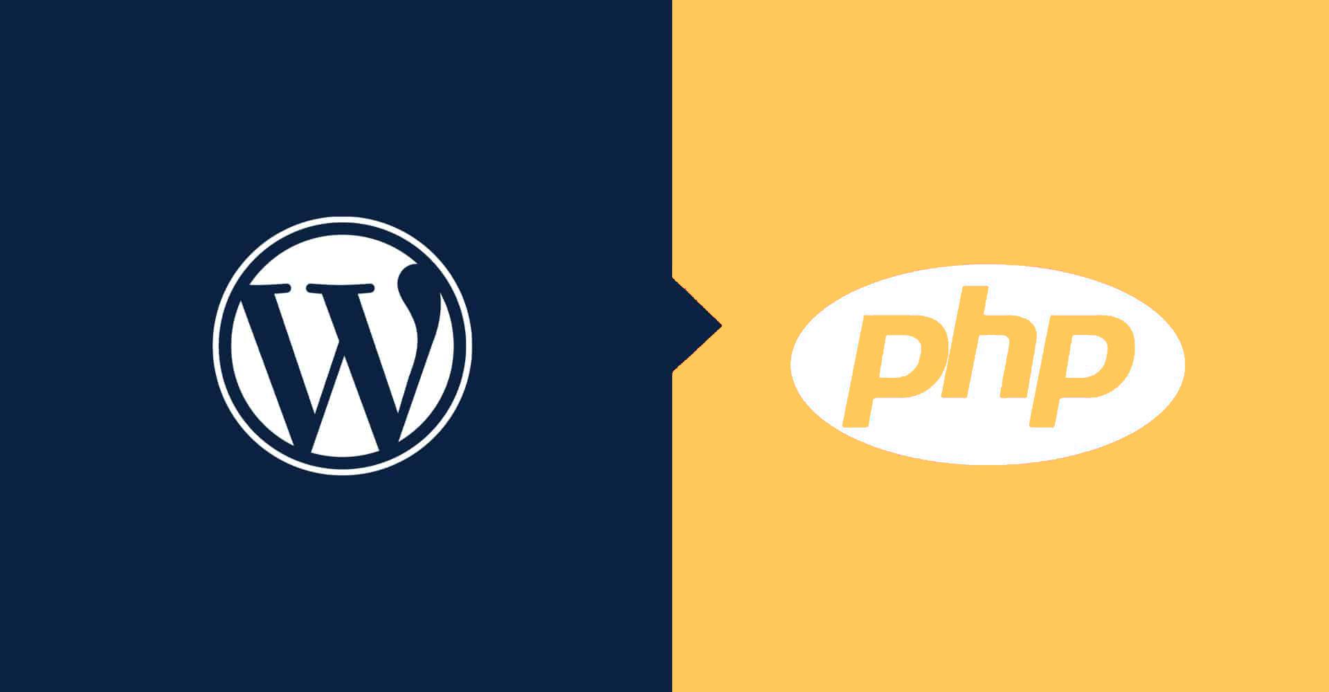 تفاوت وردپرس و php